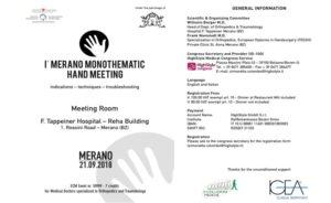 1° Merano Monothematic Hand Meeting