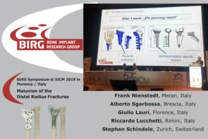 BIRG Symposium @ SICM 2019